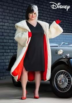 Plus Size Women's Deluxe Cruella De Vil Costume