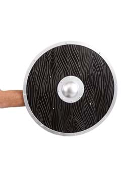 Black Wood-Look Viking Shield
