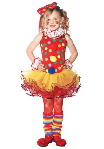 Child Circus Clown Cutie Costume