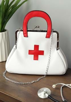 White Nurse Purse