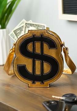 Gold Dollar Sign Purse