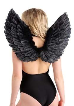 Fallen Black Angel Wings