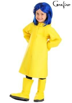 Coraline Toddler Raincoat Costume
