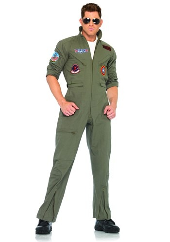 Mens Top Gun Flight Suit
