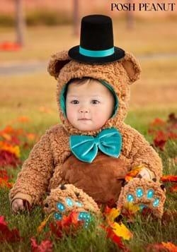 Posh Peanut Infant Archie Bear Costume upd