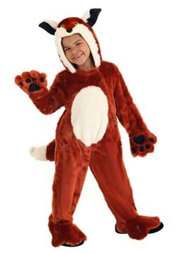 Plush Fox Costume for Toddlers