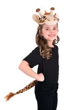Giraffe Plush Headband & Tail Kit