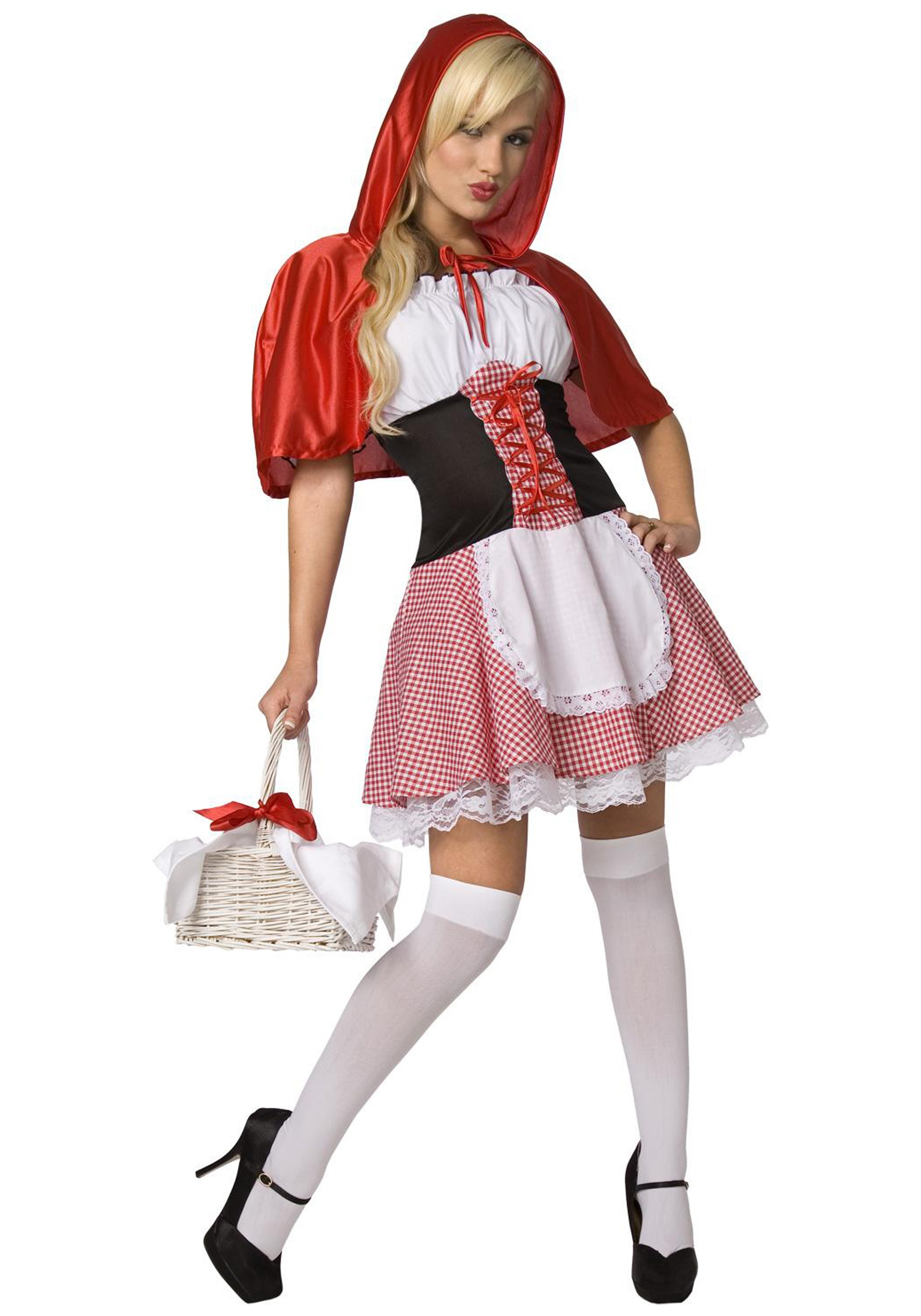 INOpets.com Anything for Pets Parents & Their Pets Sexy Red Riding Hood Costume