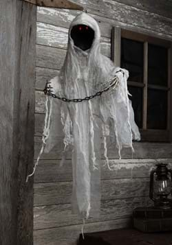 3ft Hanging Faceless Ghost Animatronic