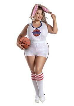 Womens Plus Size Basketball Bunny Costume