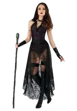 Women's Sexy Dark Priestess Costume