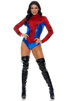 Women's Sensible Seductress Spiderman Costume