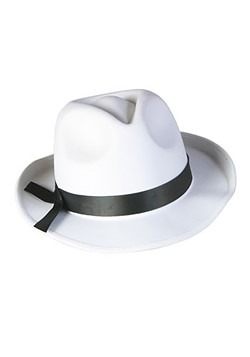 White Fedora Hat
