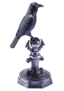 Sounds and Motion Activated Crow on a Perch