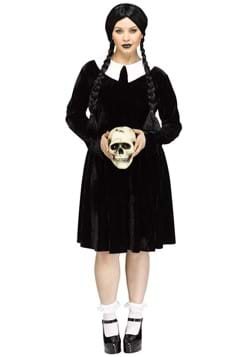 Womens Plus Size Gothic Girl Costume