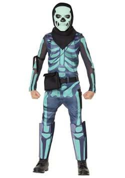 Fortnite Child Green Skull Trooper Costume