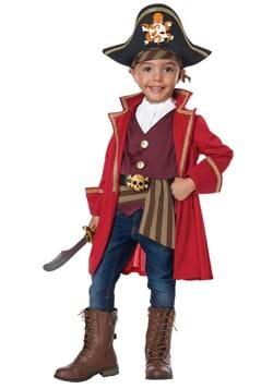 Capn Shorty Toddler Pirate Costume