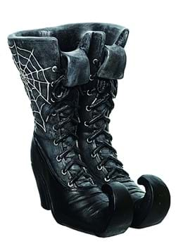 10 Inch Web Witch Boot Container