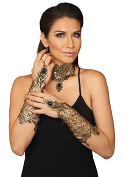Dark Fantasy Lace Glovelets