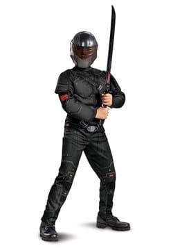 Snake Eyes Movie Child Deluxe Costume