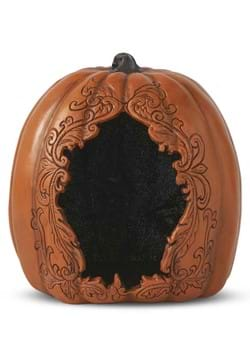 8 Hollow Orange Pumpkin with Black Glitter Inside