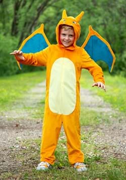 Pokemon Child Charizard Deluxe Costume