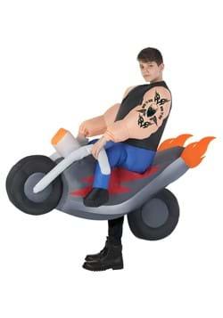 Kids Hells Biker Inflatable Costume