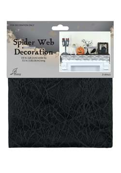 """72"""" Spider Web Mantle Covering"""