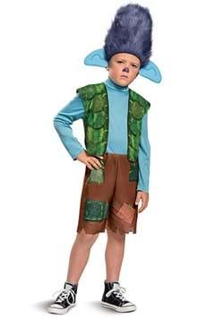Kids Trolls World Tour Branch Costume