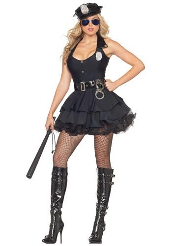 Sexy Tutu Cop Costume