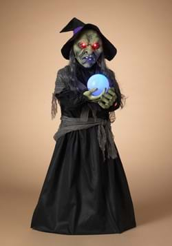44 Lighted Animated Witch w Sound