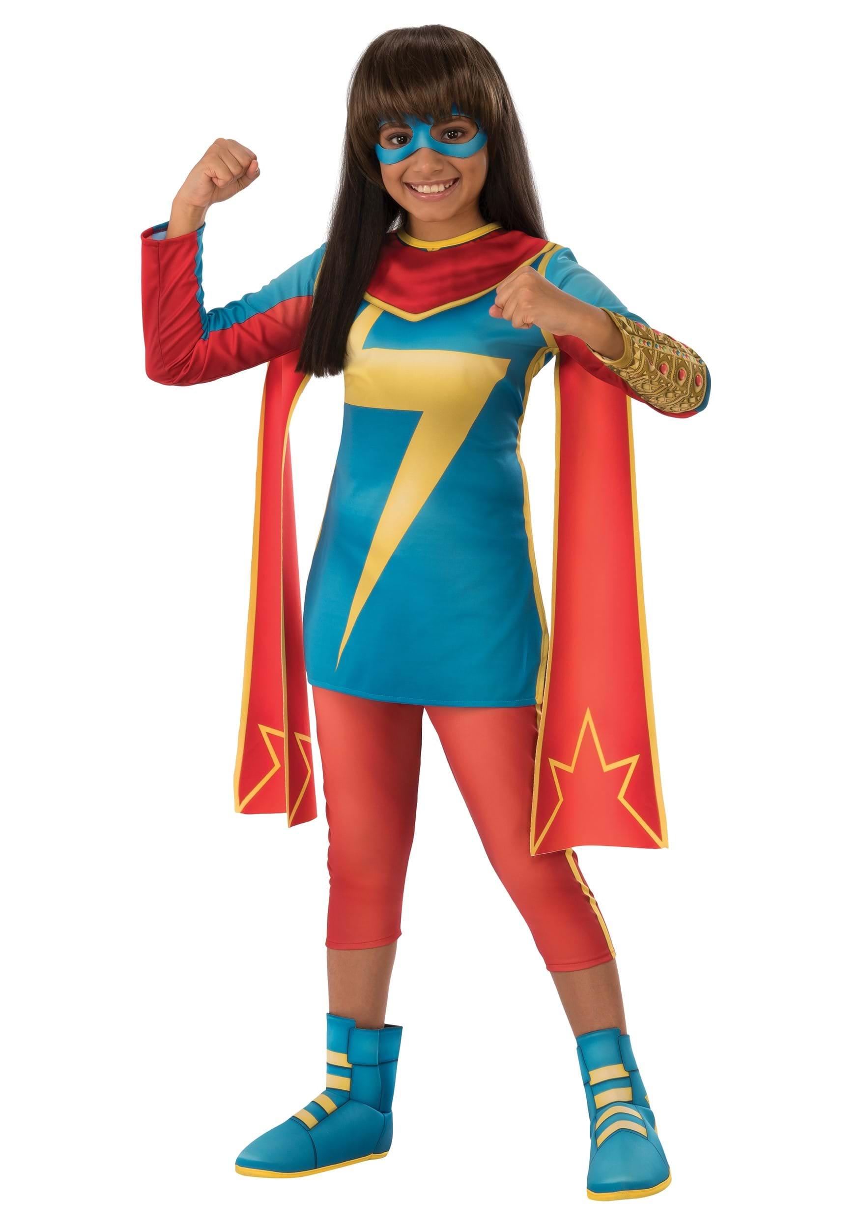 Secret Warriors Ms. Marvel Girls Costume