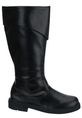 Tall Black Costume Boots