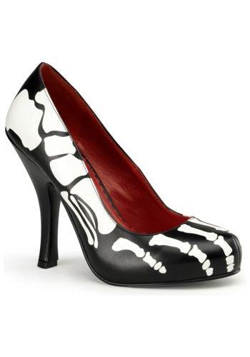 Skeleton High Heels