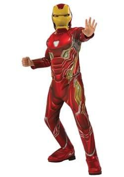 Deluxe Child Iron Man Avengers 4 Costume