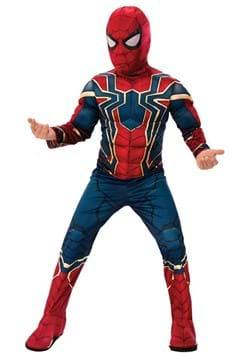 Deluxe Child Iron Spider Avengers 4 Costume