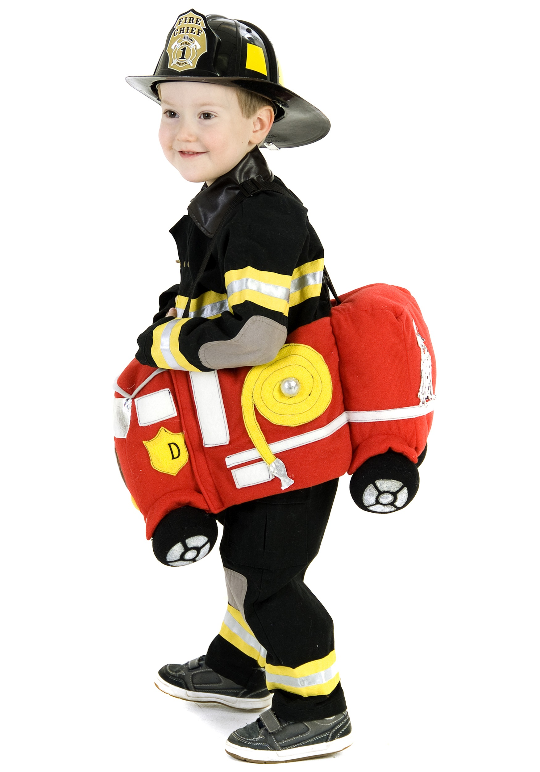 Inflatable Fire Extinguisher Firefighter Halloween Costume Accessory