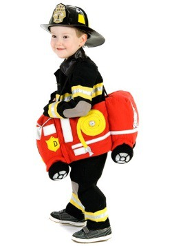 Ride in a Fire Truck Costume
