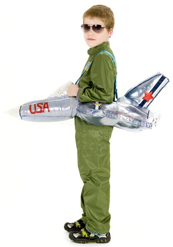 Ride in an Airplane Costume