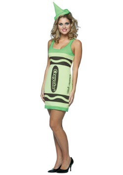 Sexy Screamin' Green Crayon Dress