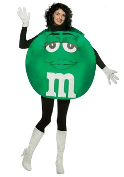 Green M&M Costume