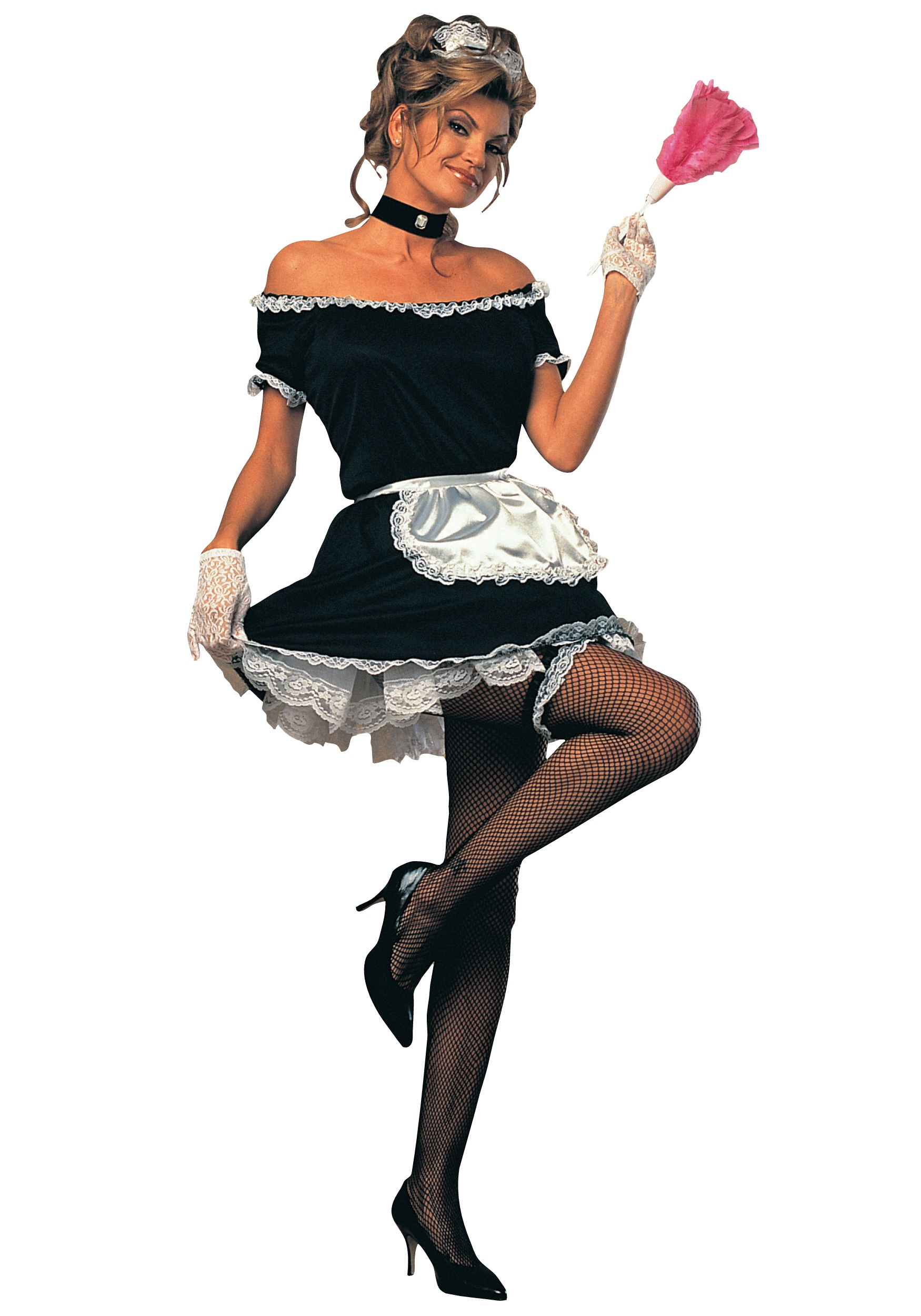 Women's French Maid Costume - Adult French Maid Halloween ...