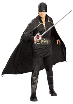 Adult Mens Zorro Costume