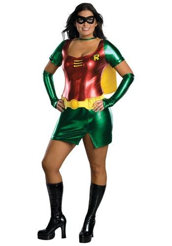 Plus Size Robin Girl Costume