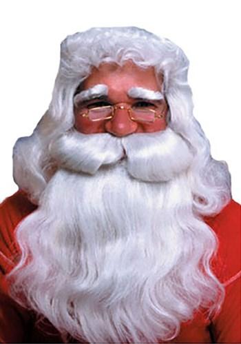Straight Santa Wig and Beard