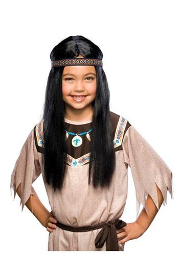 Child Black Pocahontas Wig