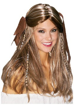 Caribbean Pirate Wench Wig