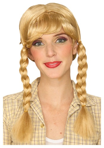 Blonde Braided Wig