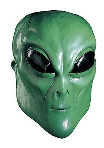 Green Alien Mask