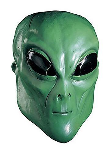 Green Alien Mask